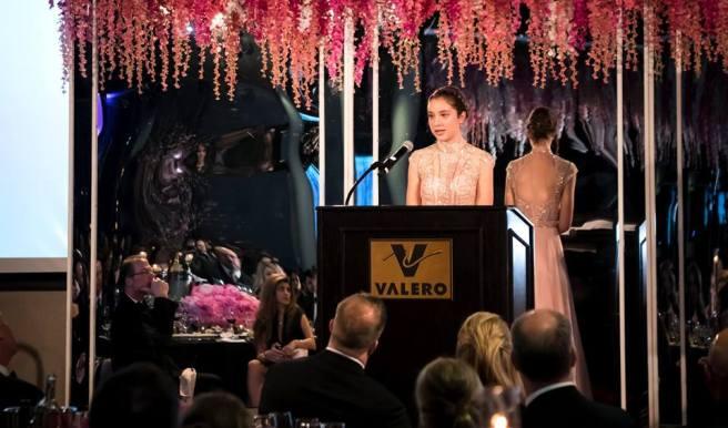 Rebecca at Gala